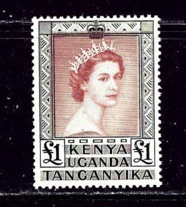 Kenya UT 117 MLH 1954 issue