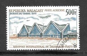 Malagasy Republic  (1968 )  - Scott # C89,