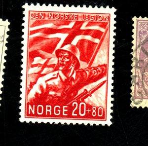 NORWAY #B24 MINT VF OG LH  Cat $60