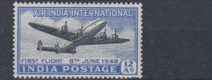 INDIA  1948    S G  304  INAUGURATION  OF INDIA   MH