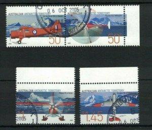 AAT107) Australian Antarctic Territory 2005 Aviation CTO/Used