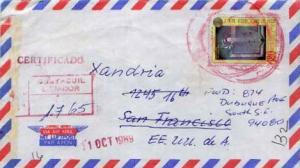 Netherlands Antilles, Airmail