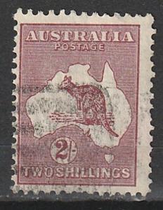 #99 Wmk 203 Australia used Roo