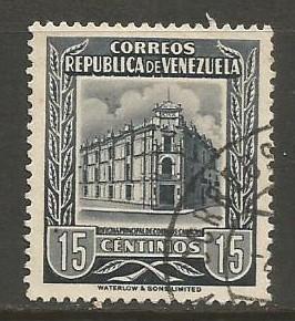 VENEZUELA 663 VFU V243-3