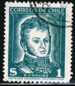 CHILE #275 - USED - 1953 - CHILE009