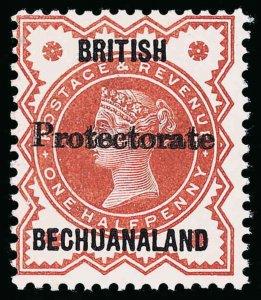 Bechuanaland Scott 53 Gibbons 54 Never Hinged Stamp
