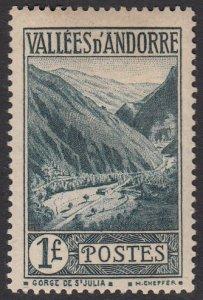 French Andorra 49 MLH CV $20.00