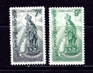 Guatemala C404-05 MNH 1968 set
