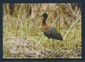 [29409] Guyana 2012 Birds Vögel Oiseaux Ucelli Ibis MNH Sheet