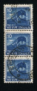 India 411   (3)   used  1965-68 PD
