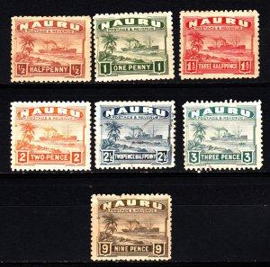Nauru 17-22, 26 mh