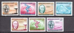 Haiti - Scott #462-465, C163-C165 - MNH - SCV $5.60