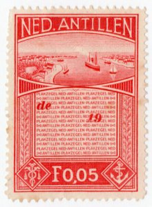 (I.B) Netherlands Antilles Revenue : Duty Stamp 5c