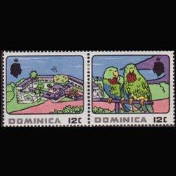 DOMINICA 1969 - Scott# 249a Tourism 12c LH