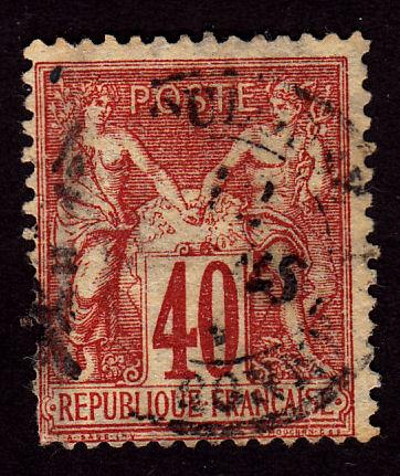 France 74 Peace and Commerce 1878