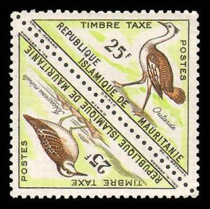 MAURITANIA #J26-J41 COMPLETE SET MINT NEVER HINGED