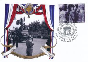[96863] Bequia 2005 WWII Liberation Paris Special Cachet Cover