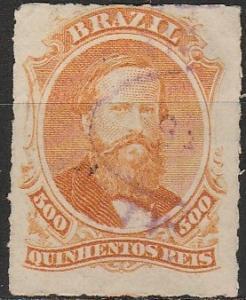 Brazil #67  F-VF  Used CV $42.50