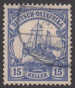 German East Africa 34 Used CV $1.50