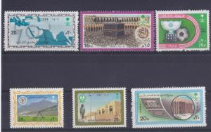 SMALL LOT SAUDI ARABIA,1986 SINGLE STAMP  ALL MINT NH