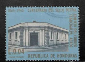 Honduras  Scott C390 Used airmail stamp