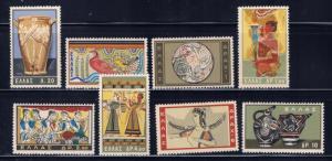 Greece 708-15 MNH 1961 Minoan Art