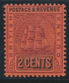 British Guiana SG 241 Mint Hinged  (Sc# 161 see details)