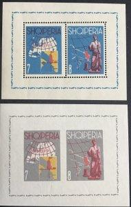 Albania #630-633 MNH S/S CV$75 Europa [118747]