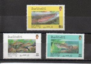 Brunei 430-432 MNH