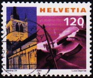 Switzerland. 2000 120c. S.G.1452  Fine Used