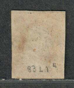 US Sc#10a Used/F, Pos 83L1e No Faults, Cv. $140