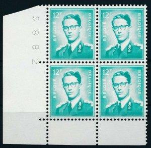 [2028] Belgium 1966 good Stamp very fine MNH in Block of 4 Value $66