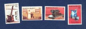 NORFOLK ISLAND - 504-507  - VF MNH - Museum  - 1991