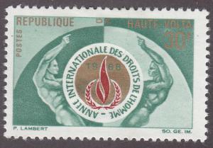 Burkina Faso 186 Human Rights 1968