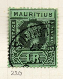 Mauritius 1921-34 Early Issue Fine Used 1R. NW-90922