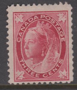 Canada 1897 3c QV Sc#69 MNG Mint No Gum