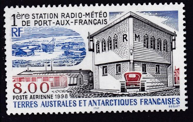 French Southern & Antarctic Territories 1998 First Radio Meteorological  Station