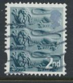 GB Regional England 2nd Class  SG EN6b SC#6 Used Type I     see details