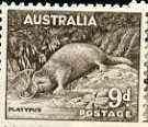 Australia 1956 Platypus 9d from no wmk def set unmounted ...