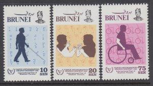 Brunei 273-275 MNH VF
