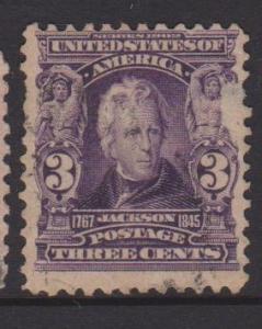 USA Sc#302 Used