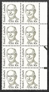 Doyle's_Stamps: 1984 XF+ 30c Laubach w/Overall Tagging Scott  #1864b**