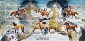 Malawi 2012 American Spanish Horses Mammal Animal Fauna MNH