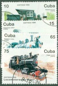 A2-0009 CUBA 3765-68 (MISSING 3769) USED BIN $1.25