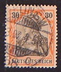 Reich, Germany, 1902, MC #74, (2255-T)
