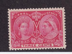 Canada Scott # 53 VF OG never hinged nice color cv $ 75 ! see pic !