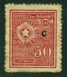 Paraguay 1928 #L12 MH SCV (2018) = $0.50