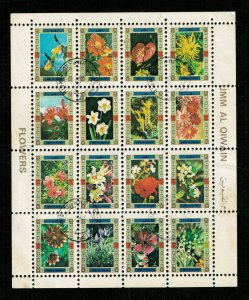 Flowers, Block, MNH, ** (R-607)