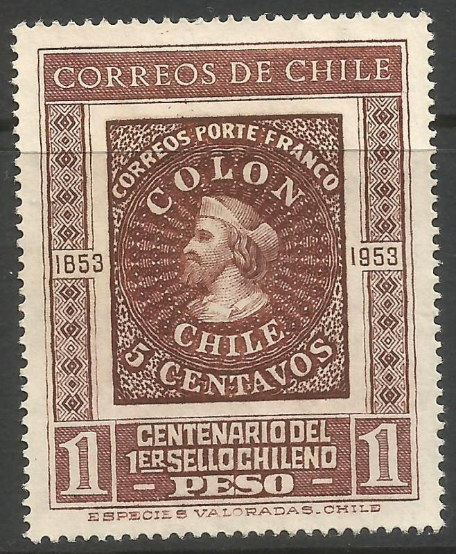 CHILE 276 MNG COLUMBUS Z560-1