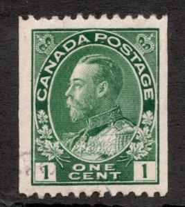 #131 - Canada - 1915 - Admiral 2 Cent Coil - Used - VF - superfleas - cv$8